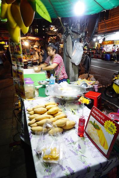 Mein neues Lieblings-Dessert, Sticky Rice mit Mango, Bangkok, Thailand | wat-erleben