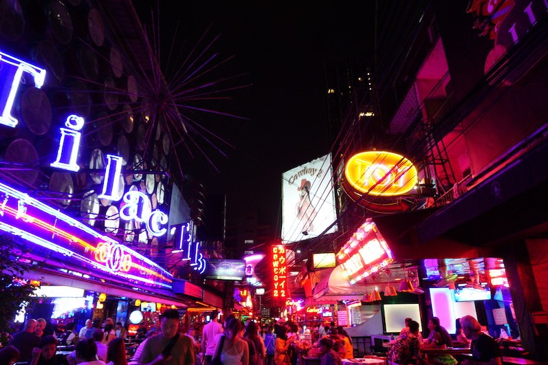 Rotlichtviertel, Bangkok, Thailand | wat-erleben