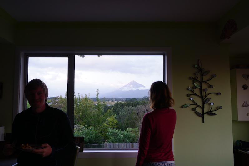 So lässt sich die Aussicht aushalten, Mount Taranaki, Neuseeland | wat-erleben