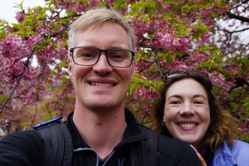 So langsam beginnen die Bäume an zu blühen, den Anfang machen die Pflaumen, Tokio, Japan | wat-erleben