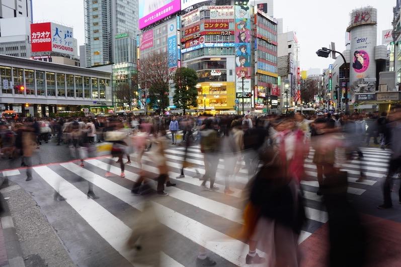 Suchbild, wo ist Laura, Shibuya, Japan | wat-erleben
