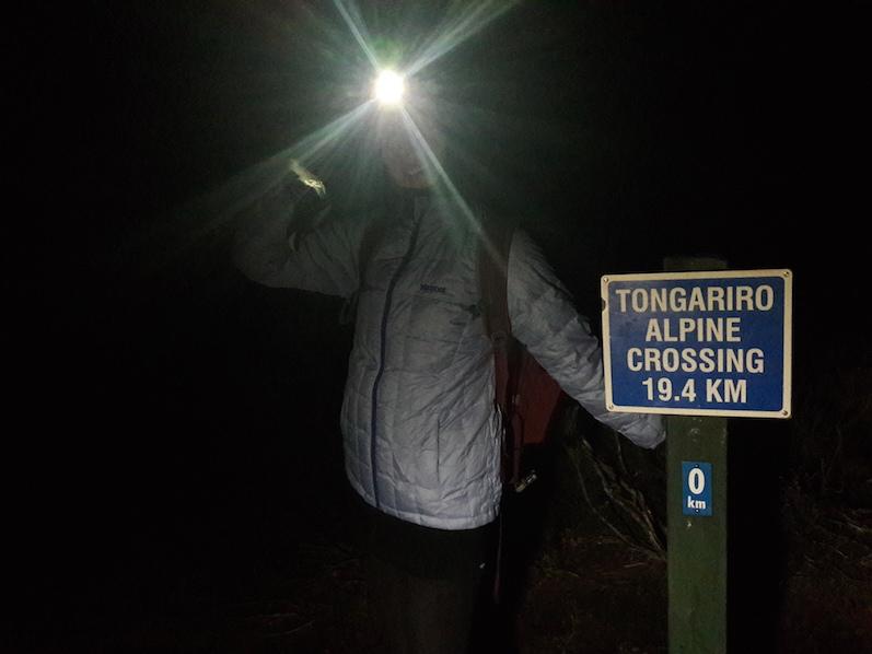 Tongariro Alpine Crossing, kurz nach 5, Minus Grade, Neuseeland | wat-erleben