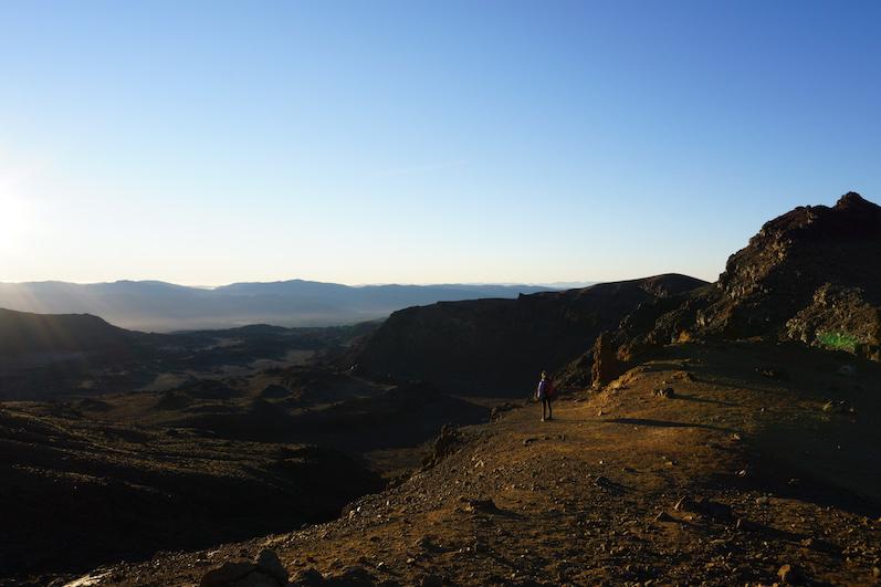 Tongariro Alpine Crossing, kurz vorm höchsten Punkt, Neuseeland | wat-erleben
