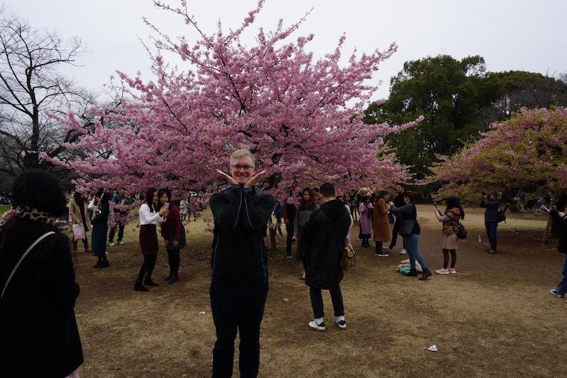 Typische Pose hier, Tokio, Japan | wat-erleben