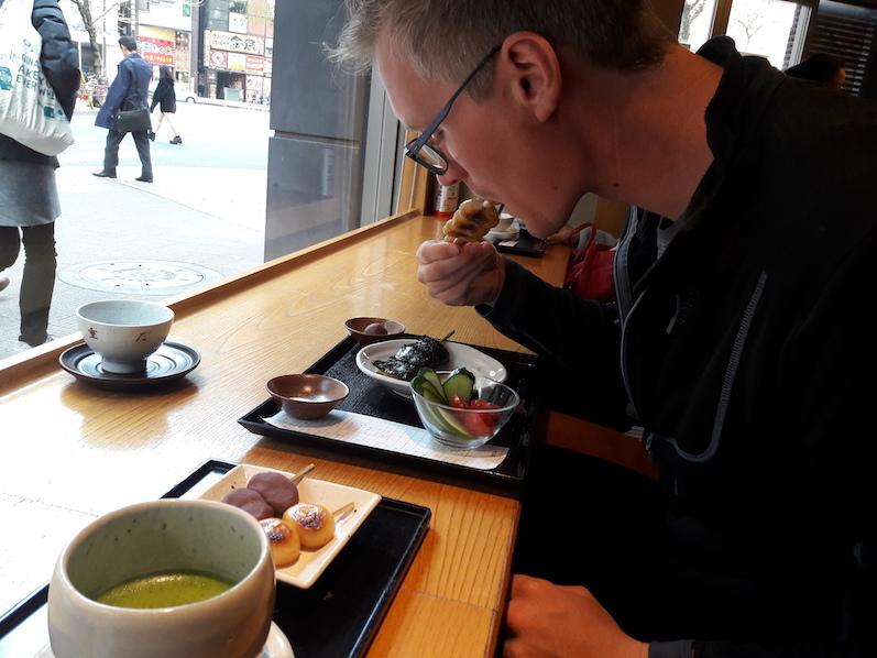 Und mal wieder etwas Essen und Trinken, Teestube Tokio | wat-erleben
