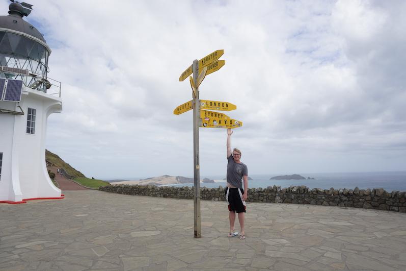 Unser nächstes Ziel am Cape Reinga, nur 9000 Kilometer entfernt, Neuseeland | wat-erleben