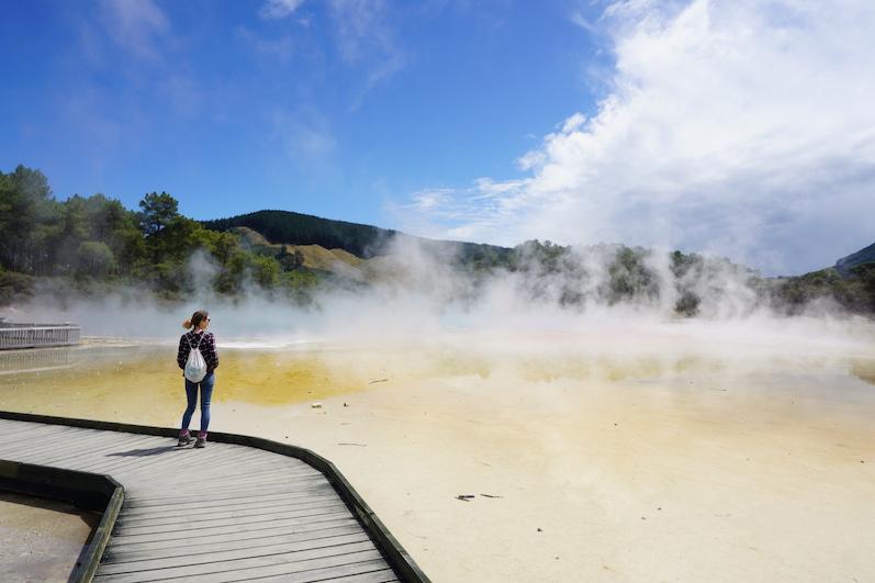 Wai-O-Tapu und viel Gestank, Neuseeland | wat-erleben