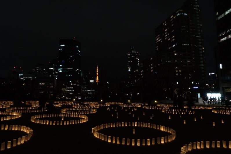 Was da hinten leuchtet ist eine Kopie des Eiffelturms, Tokio, Japan | wat-erleben