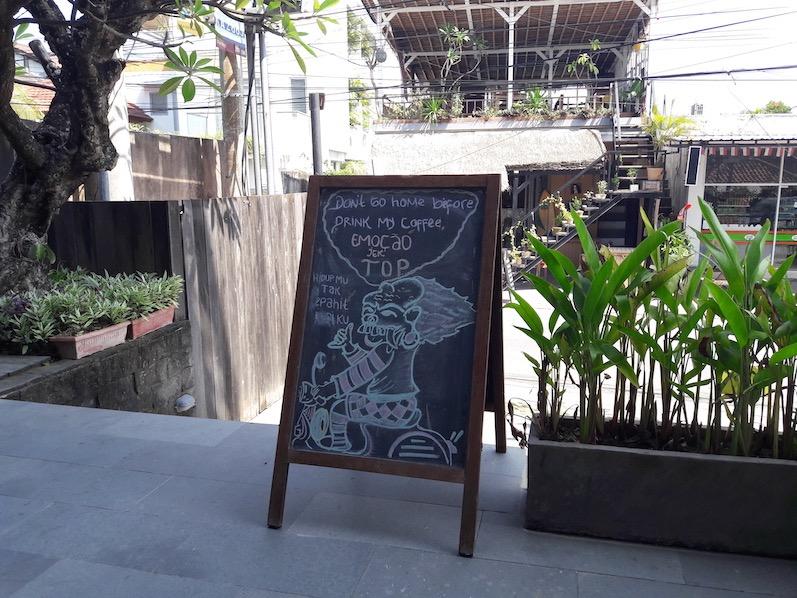 Der Kaffeegott hat gesprochen, Canggu, Bali | wat-erleben