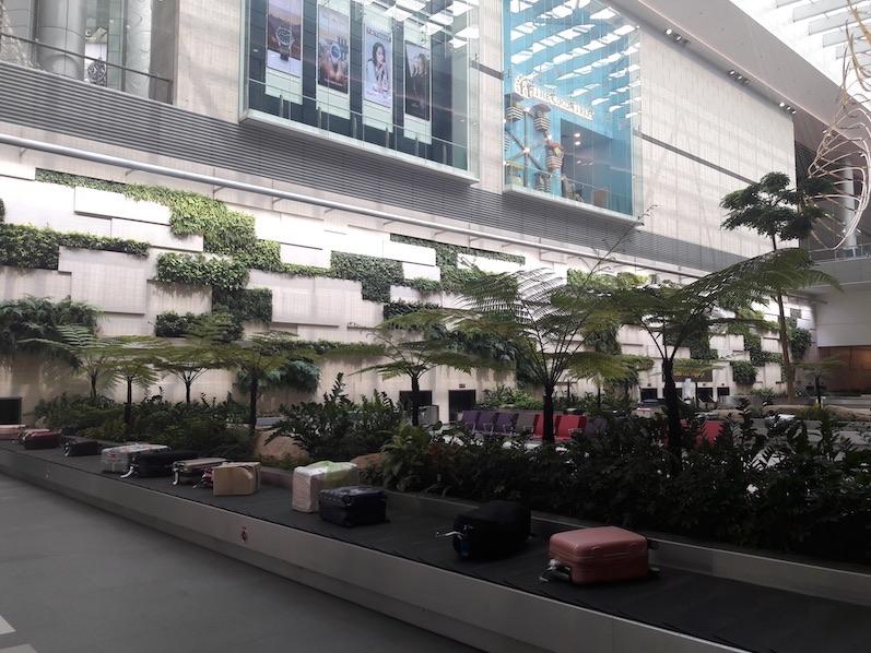Der erste Eindruck vom Flughafen, hübsch und nochmal hübsch, Singapur | wat-erleben
