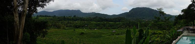 Die Skyline von Sidemen, Bali | wat-erleben