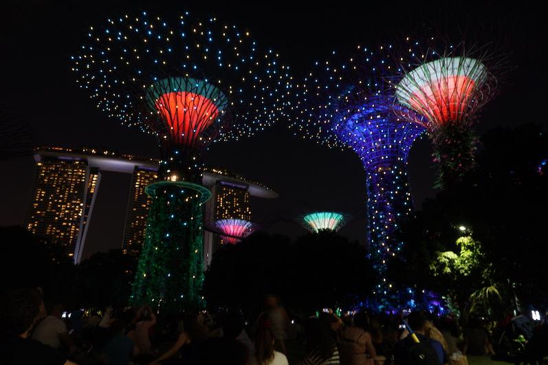 Es blinkt überall, Singapur | wat-erleben
