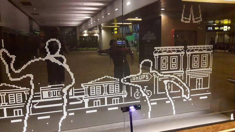 Laura und der Robotdance, Singapur | wat-erleben