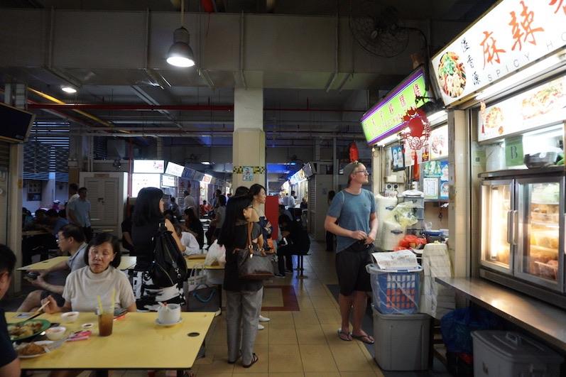 Mittlerweile kann ich Essen in jeder Sprache bestellen, Singapur | wat-erleben